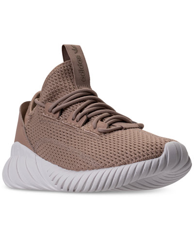 adidas Big Boys' Tubular Doom Sock Primeknit Casual Sneakers from Finish Line