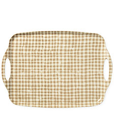 kate spade new york Serving Tray, Gingham