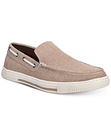 Kenneth Cole Reaction Men's Ankir Canvas Slip-on Boat Shoes