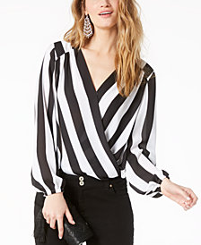 I.N.C. Petite Surplice Top, Created for Macy's