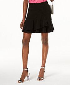 I.N.C. Ruffled Mini Skirt, Created for Macy's