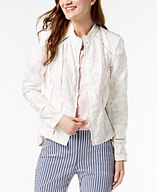INC Eyelash Embroidered Jacket, Created for Macy's