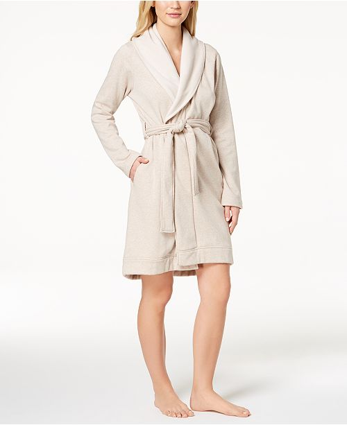 5dacdd0de2 UGG® UGG Blanche Shawl-Collar Double-Knit Robe   Reviews ...