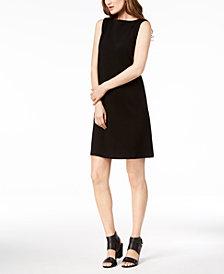 Eileen Fisher Tencel® Ponte Boat-Neck Shift Dress