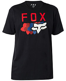 Fox Men's Multi-color Fox Head Graphic T-Shirt
