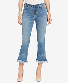 WILLIAM RAST Kick-Flare Ankle-Length Jeans