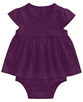 e81aa65de First Impressions Cotton Bodysuit Dress, Baby Girls, Created for Macy's