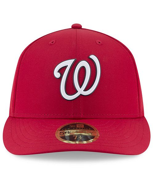 afece43a ... New Era Washington Nationals Spring Training Pro Light Low Profile 59Fifty  Fitted Cap ...