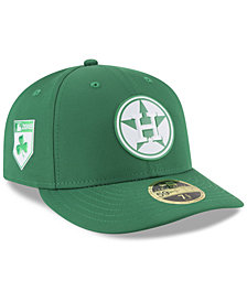 New Era Houston Astros St. Patty's Day Pro Light Low Crown 59Fifty Fitted Cap