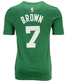 Men's Jaylen Brown Boston Celtics Icon Player T-Shirt