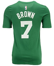 Nike Men's Jaylen Brown Boston Celtics Icon Player T-Shirt
