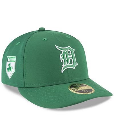 size 40 6ef95 ecf50 ... canada new era detroit tigers st. pattys day pro light low crown  59fifty fitted cap
