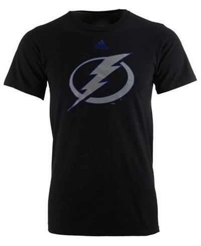 adidas Men's Tampa Bay Lightning Ice Out Logo T-Shirt