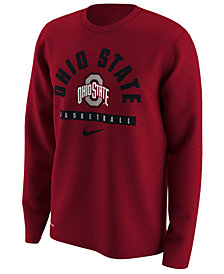 Nike Men's Ohio State Buckeyes Basketball Legend Long Sleeve T-Shirt