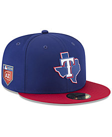 New Era Texas Rangers Spring Training Pro Light 59Fifty Fitted Cap