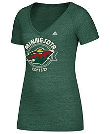 adidas Women's Minnesota Wild Banner Dazzle T-Shirt