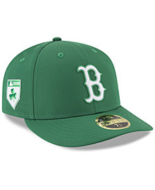New Era Boston Red Sox St. Patty's Day Pro Light Low Crown 59Fifty Fitted Cap