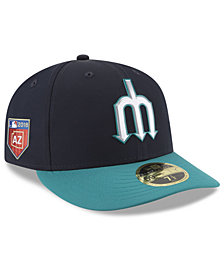 New Era Seattle Mariners Spring Training Pro Light Low Profile 59Fifty Fitted Cap