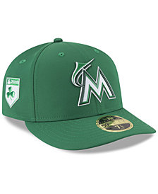 New Era Miami Marlins St. Patty's Day Pro Light Low Crown 59Fifty Fitted Cap