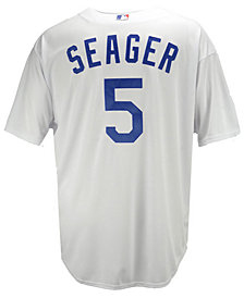 Majestic Men's Corey Seager Los Angeles Dodgers Player Replica Cool Base 3XL-6XL Jersey