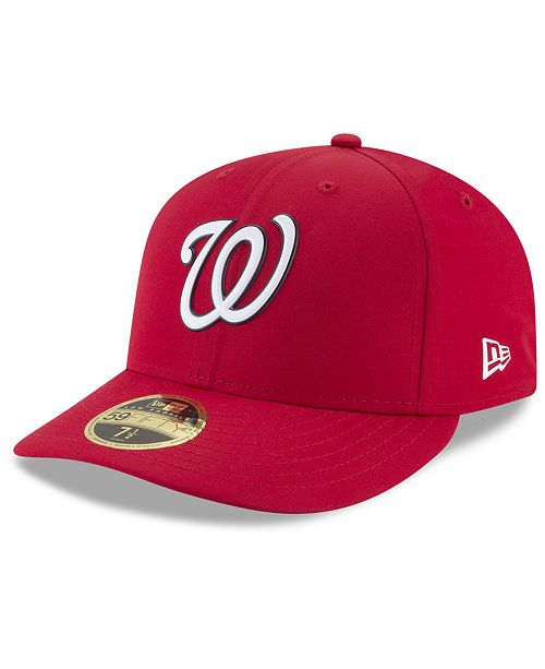 31ddfe60ed718 ... New Era Washington Nationals Spring Training Pro Light Low Profile  59Fifty Fitted Cap ...