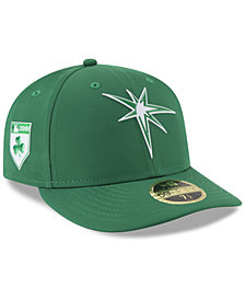 New Era Tampa Bay Rays St. Patty's Day Pro Light Low Crown 59Fifty Fitted Cap