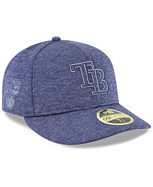 New Era Tampa Bay Rays Clubhouse Low Crown 59Fifty Fitted Cap