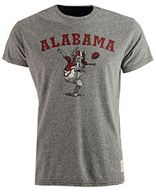 Retro Brand Men's Alabama Crimson Tide Tri-Blend Vault Logo T-Shirt
