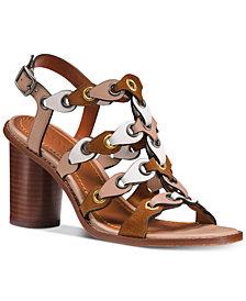 COACH Gladiator Linked Dress Sandals