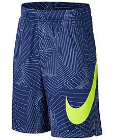 Nike Printed Dry Training Shorts, Big Boys