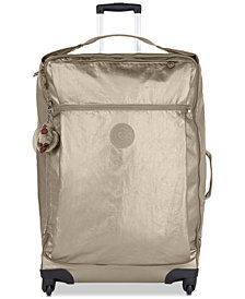 Kipling Darcey Extra-Large Metallic Rolling Luggage