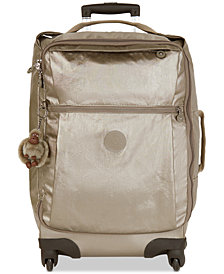 Kipling Darcey Small Metallic Carry-On Rolling Luggage