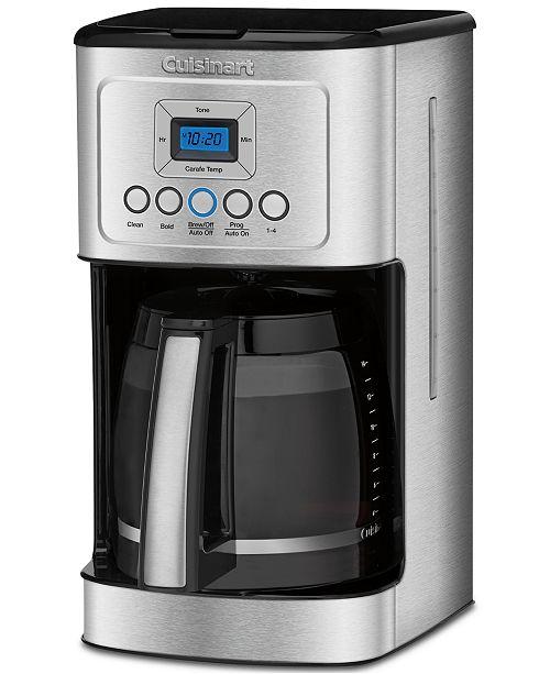 Cuisinart Dcc 3200 Perfectemp 14 Cup Programmable Coffee Maker Tea Espresso Kitchen Macy S