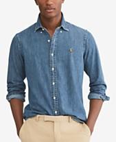 0b357aaf4fe Men s Denim Shirts  Shop Men s Denim Shirts - Macy s