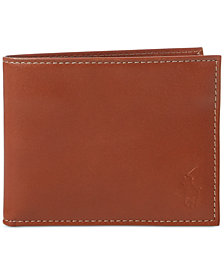 Polo Ralph Lauren Men's Wallet, Burnished Passcase