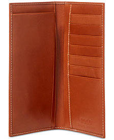 Polo Ralph Lauren Men's Accessories, Burnished Leather Narrow Wallet