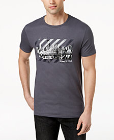 Kenneth Cole Men's Cityscape Graphic-Print T-Shirt