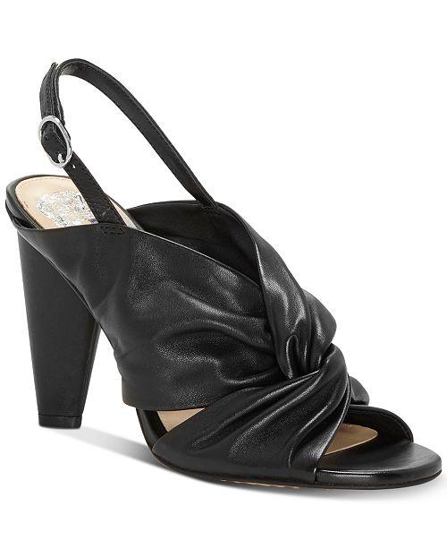 b781e7676fe Vince Camuto Kattie Knotted Slingback Sandals   Reviews - Sandals ...
