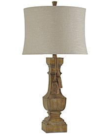 StyleCraft Shelton Linen Table Lamp