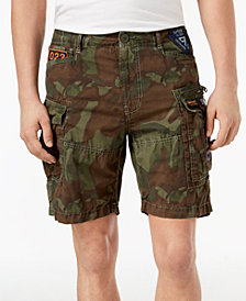 Superdry Men's Camo Cargo Parachute Shorts