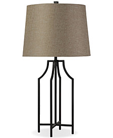 Stylecraft Bronzewood Table Lamp