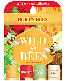 Burt's Bees 4-Pc. Wild For Bees Lip Balm Set