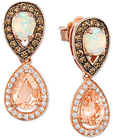 Le Vian Chocolatier® Multi-Gemstone (1-1/3 ct. t.w.) & Diamond (1/2 ct. t.w.) in 14k Rose Gold
