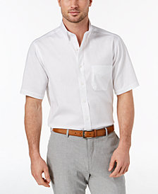Club Room Men's Classic/Regular Fit Wrinkle-Resistant Oxford Dress Shirt, Created for Macy's
