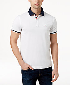 Tommy Hilfiger Men's Logo Slim Fit Polo, Created for Macy's