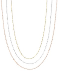 4dc2edfb8 14k Gold, 14k Rose Gold and 14k White Gold Necklaces, 16-30