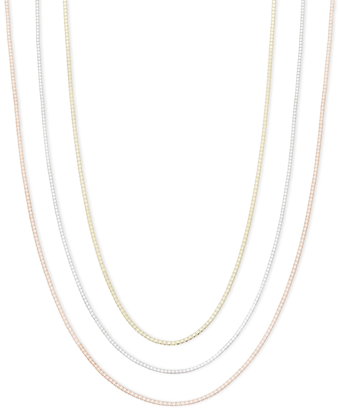 White Gold Necklaces Macy s