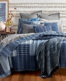 Lucky Brand Boro King Quilt, Created for Macy's