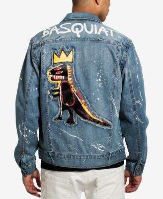 Men's Basquiat Pez Denim Jacket, Created for Macy's