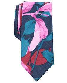Original Penguin Men's Palis Floral Skinny Tie